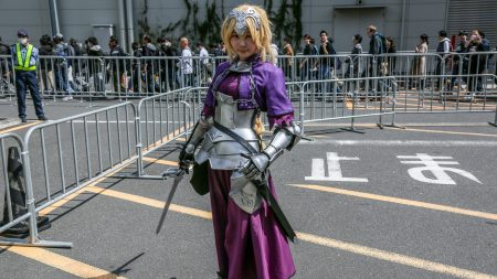 Jeanne D'arc cosplay at Anime Japan 2018