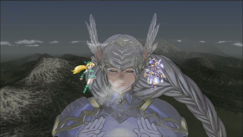 A screenshot from Valkyrie Profile Lenneth on iOS