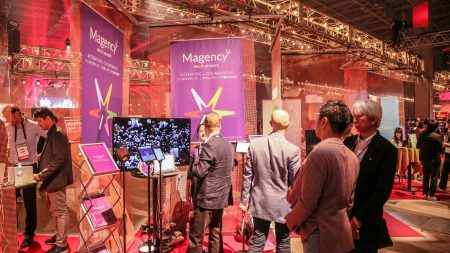 The Magency booth at Slush Tokyo