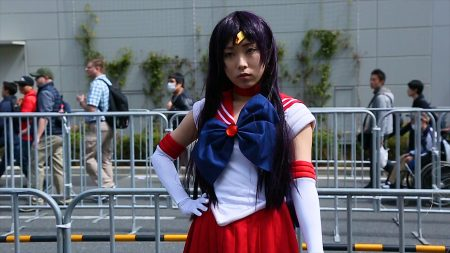 Cosplayer Sousaki as Sailor Mars