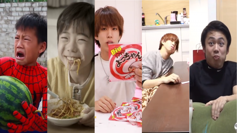 foodtop5-800x450 What's Popular on YouTube Japan? Food Videos