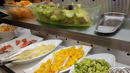 Fresh fruit bar at Takano Fruit Bar