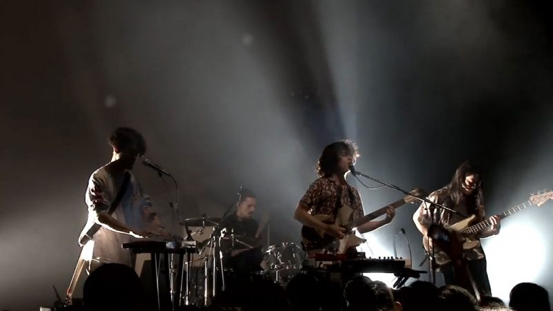 The fin playing live