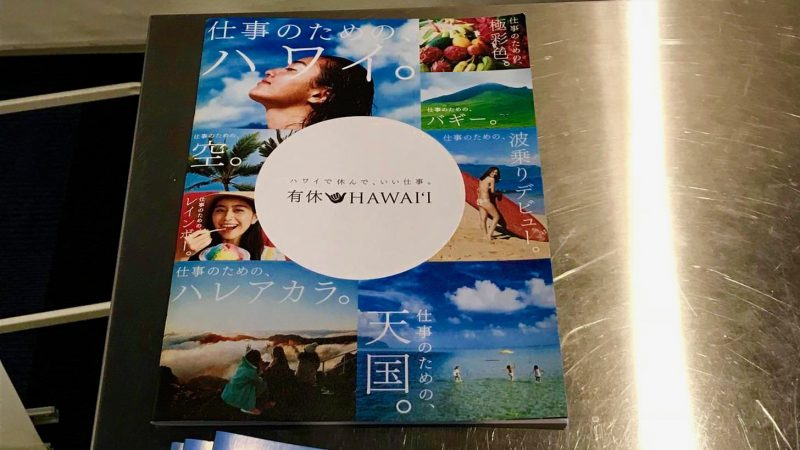 Hawaii travel brochure