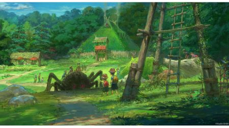 Concept for Studio Ghibli amusement park