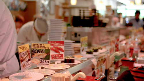 kaiten-sushi-4-edit-500x Dine with Ninjas at this Weird Izakaya
