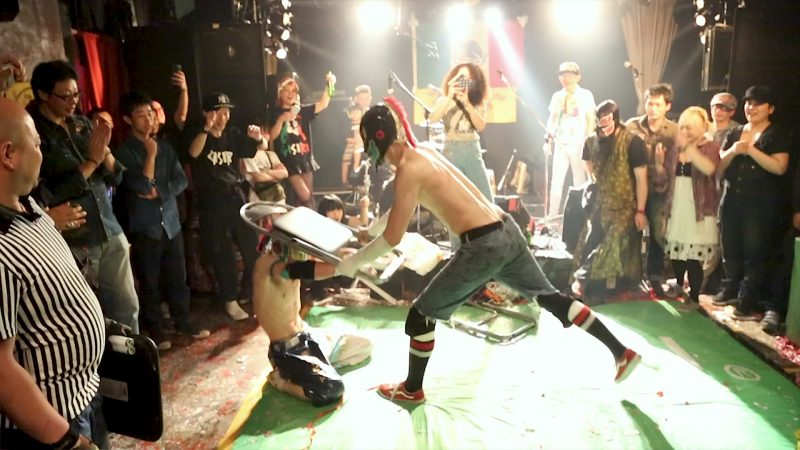 Chair-800x450 Blood, Sweat, and Luchadores: Mexican Wrestling x Hardcore Punk