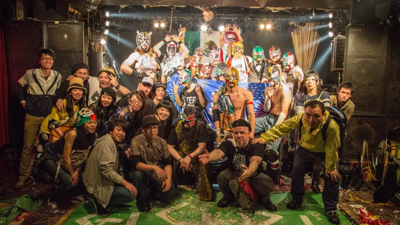 Gishiri-3-800x450 Blood, Sweat, and Luchadores: Mexican Wrestling x Hardcore Punk