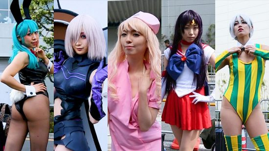 A Taste of the Sexiest Cosplay from Anime Japan 2018
